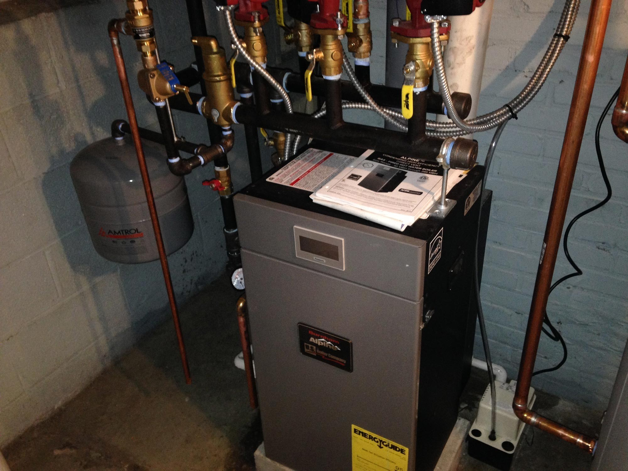 High Efficiency Gas Boiler Photo Gallery | Cooling Unlimited, Inc.