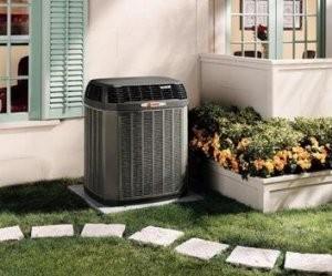 A new heat pump system in Perkasie, Bucks County PA.